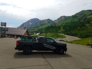 Rock chip repair in Park City