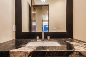 Beautiful custom hardware with mirror, Park City