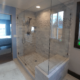 Shower glass door & walls, Park City